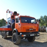 Услуги крана манипулятора вездеход 5 тонн стрела, Ярославль