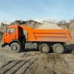 Песок сеяный с доставкой, самосвал 7м3 / 10 тонн, Ярославль