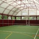 Каркасно-тентовый ангар для накрытие спортивных площадок, Ярославль