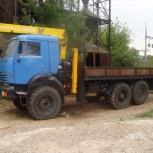 Аренда манипулятора Камаз, 8 тонн, Ярославль