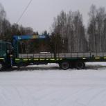 Грузоперевозки манипулятором в Ярославле 15 тонн, Ярославль
