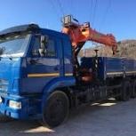 Аренда манипулятора Камаз 10 тонн, Ярославль