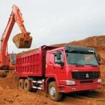 Песок карьерный с доставкой, самосвал 20м3 / 30 тонн, Ярославль