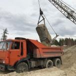 Песок речной с доставкой | самосвал 7м3 / 10 тонн, Ярославль