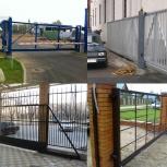 Въездные (распашные, откатные) ворота. Въездные ворота, Ярославль