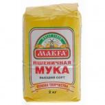 """Мука пшеничная 2 кг """"Макфа"""", Ярославль"""