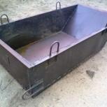 Ящик 2 м3 предназначен для хранения и транспортировки раствора, Ярославль