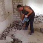 Демонтаж стен.Демонтажные работы. Снятие полов вывоз мусора, Ярославль