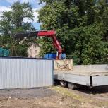 Услуги манипулятора для перевозки бытовок в Ярославле и ЯО, Ярославль