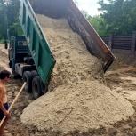 Песок строительный с доставкой, Ярославль