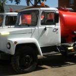 Откачка воды ассенизаторной машиной, Ярославль