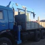 Манипулятор в аренду на базе Камаз 10 тонн, Ярославль