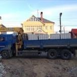 Услуги манипулятора 8-10 тонн Камаз, Ярославль