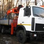 Аренда манипулятора МАЗ 6303, 15 тонн, Ярославль