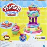 Делаем торт. Набор для лепки Play-Doh, Ярославль