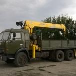 Камаз манипулятор 10 тонн в аренду, Ярославль