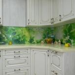 Кухня с фотопечатью скинали на заказ, Ярославль