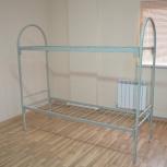 Кровати для рабочих металлические 2-ярусные, Ярославль